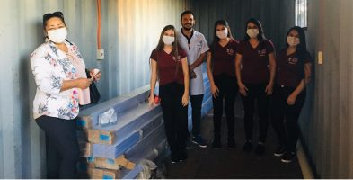 Donativo al Hospital Regional de Salto del Guairá
