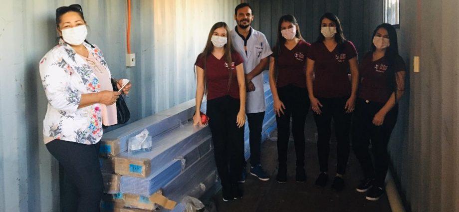 Donativo al hospital Regional de Salto del Guaira